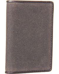 Jack Spade Waxwear Vertical Flap Wallet - Lyst