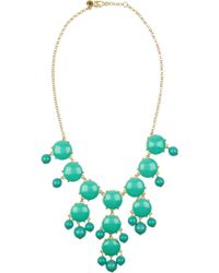 J.Crew Bubble 18-Karat Gold-Plated Resin Necklace - Lyst