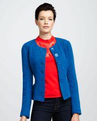 Nanette Lepore Pendulum Tweed Jacket - Lyst
