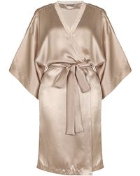 Stella McCartney Clara Whispering Short Robe - Lyst