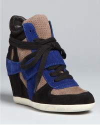 Ash Wedge High Top Sneakers Bowie - Lyst