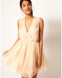 ASOS Collection Asos Party Dress with Embellishment - Lyst