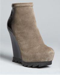 Camilla Skovgaard Saw Sole Wedge Ankle Boots - Lyst
