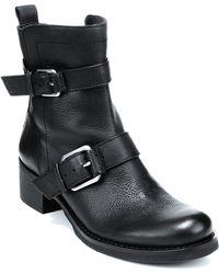 Lucky Brand Buckle Boots Hanae 2 - Lyst
