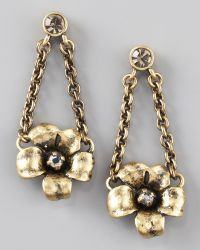 Marc By Marc Jacobs - Flower Garland Earrings - Lyst