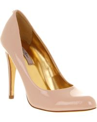 Ted Baker Jaxine 2 Court Shoe Nude Patent Leather - Lyst