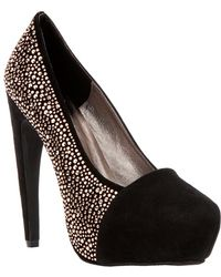 Jeffrey Campbell Jewel Embellished Pump - Lyst