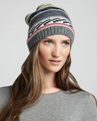 Michael Stars - Patterned Hat - Lyst