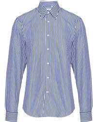 Mr Start - Butcher Stripe Shirt - Lyst