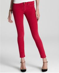Retrosuperfuture - Hudson Jeans Nico Mid Rise Skinny in Pomegranate - Lyst