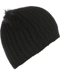 Topshop Fur Cat Ear Beanie - Lyst