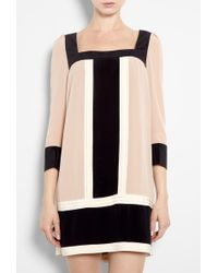 Alice By Temperley Rose Color Block Silk Tunic Dress - Lyst