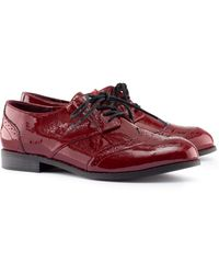 H&M Red Shoes - Lyst