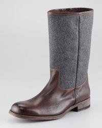 Neiman Marcus - Woolshaft Boot - Lyst