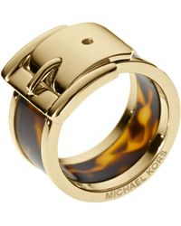 Michael Kors - Large Buckle Ring  - Lyst