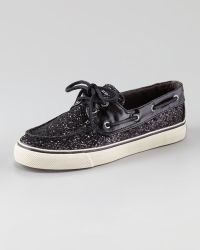Sperry Top-Sider Bahama Glitter Lace Slipon - Lyst