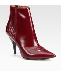3.1 Phillip Lim Delia Leather Ankle Boots - Lyst