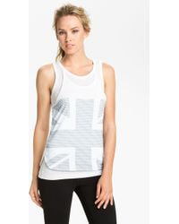 Adidas By Stella Mccartney Gb Graphic Tank - Lyst