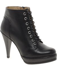 Asos Asos Anthem Leather Ankle Boots - Lyst