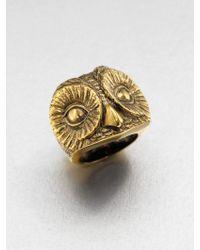 Burberry | Owl Ring | Lyst