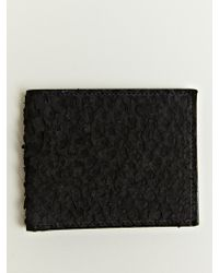 Damir Doma - Bario Python Leather Wallet - Lyst