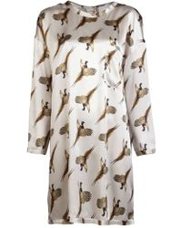 Giada Forte Turkey Dress - Lyst