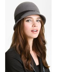Halogen Sequin Wool Cloche - Lyst