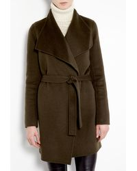 Joseph Lisa Long Double Face Cashmere Belted Coat - Lyst