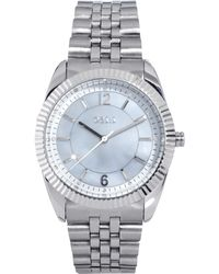 Oasis - Silver Bracelet Watch with Silver Face - Lyst