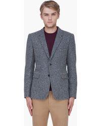 Shipley & Halmos - Grey Wool Monarch Blazer - Lyst