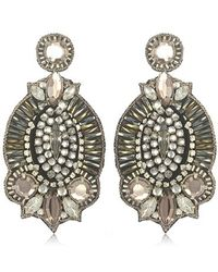 Suzanna Dai Windsor Drop Earrings Seen On Elizabeth Hurley - Lyst