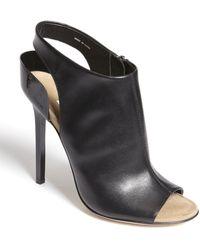 Diane von Furstenberg Peep Toe Sandal - Lyst