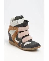 Steve Madden Hilight Wedge Sneaker - Lyst