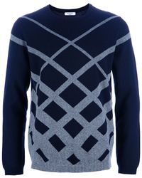 Valentino Patterned Jumper - Lyst