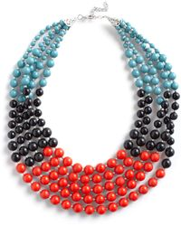 ModCloth Bead Keeper Necklace - Lyst