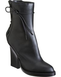 Haider Ackermann Laceup Back Ankle Boot - Lyst