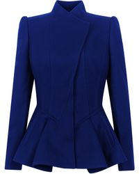 Ted Baker Wrenn Wool Peplum Jacket - Lyst