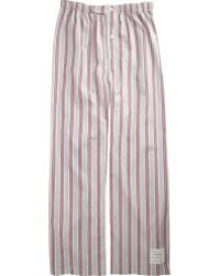 Thom Browne - Fine Striped Pant - Lyst