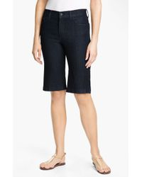 Not Your Daughter's Jeans Nydj Haley Stretch Denim Shorts - Lyst