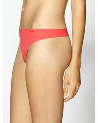 Calvin Klein Invisible Thong - Lyst
