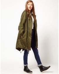 Fred Perry Parka - Lyst