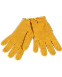 Johnstons - Gold Dust Cashmere Gloves - Lyst