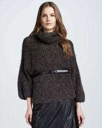 Theyskens' Theory Thick Yarn Sweater - Lyst