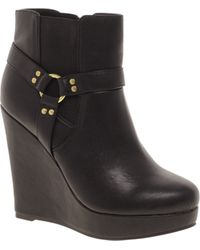Asos Asos Alarm Wedge Chelsea Ankle Boots - Lyst