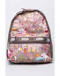 LeSportsac The Disney X Lesportsac Mini Basic Backpack in Moroccan Sun - Lyst