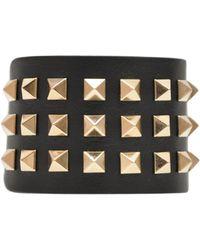Valentino High Rock Stud Bracelet - Lyst
