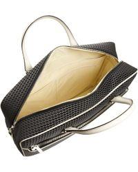 Valextra - Stitched Logo Zip Around Briefcase - Lyst