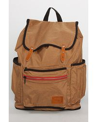 Vans The Chambers Backpack in Toffee brown - Lyst