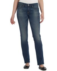 Levi's  Slight Curve Skinny Blue Tide Wash Jeans - Lyst