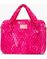 Marc By Marc Jacobs - Pink Scale Print Laptop Case - Lyst